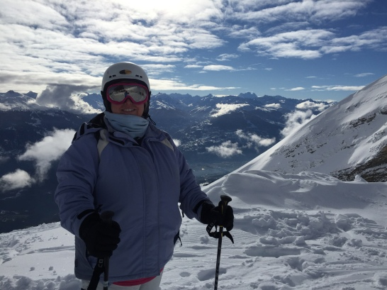 For the doubters - I really did go skiing