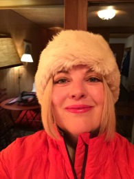 Never before have I attended a gala dinner in snow boots and a furry hat
