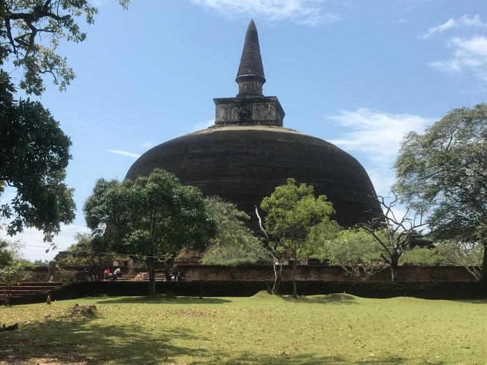 Stunning stupa at Polonnaruwa