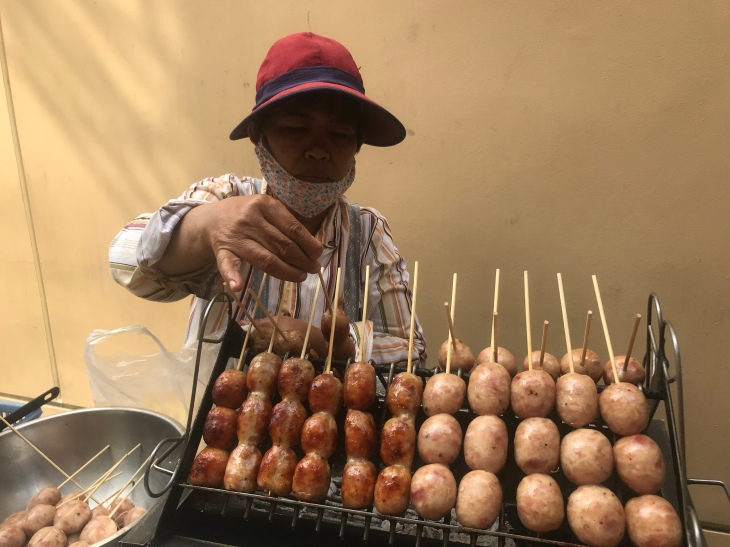 Market trader in Bangkok