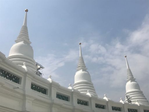 Stupas at Wat Prayoon (or Wat Rua Lek)