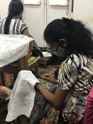 Batik work