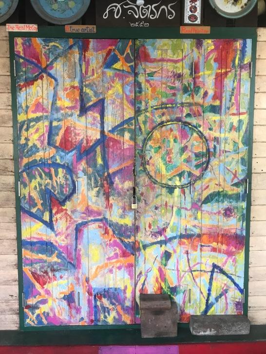 Arty doorway