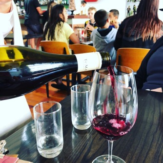 Red wine number 3 - Te Mata Syrah 2017, drunk at Mister D's Dining in Napier