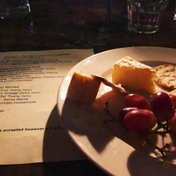 Cheese at Vivace