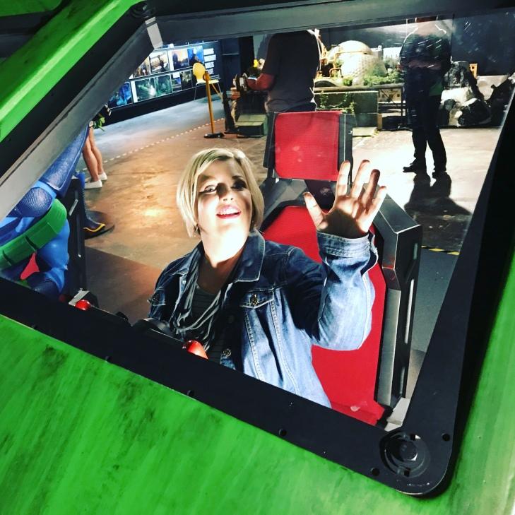 Me in the Thunderbird 2