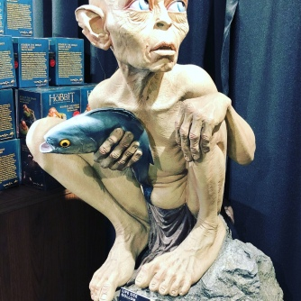 Even Golum has a fish - just like all the men on Tinder (or so I'm told)