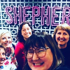 The gang at Shepherd in Wellington