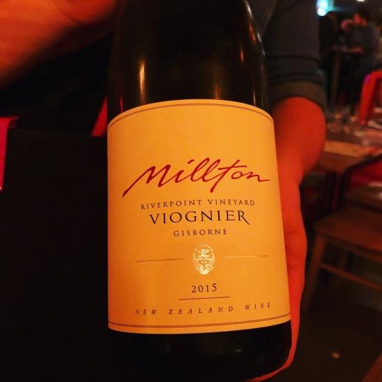 Millton Viognier 2015