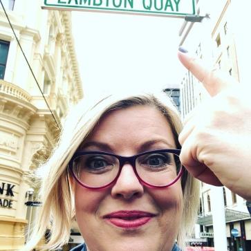 Lambton Quay - #2 of my Monopoly board streets