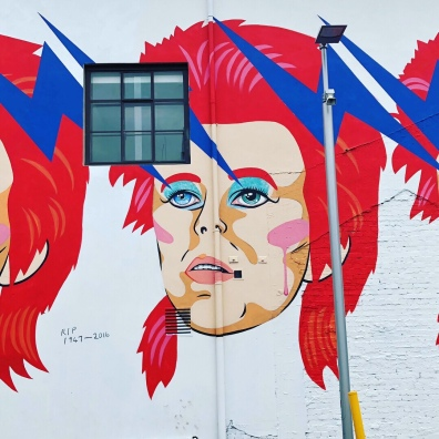 David Bowie in Wellington