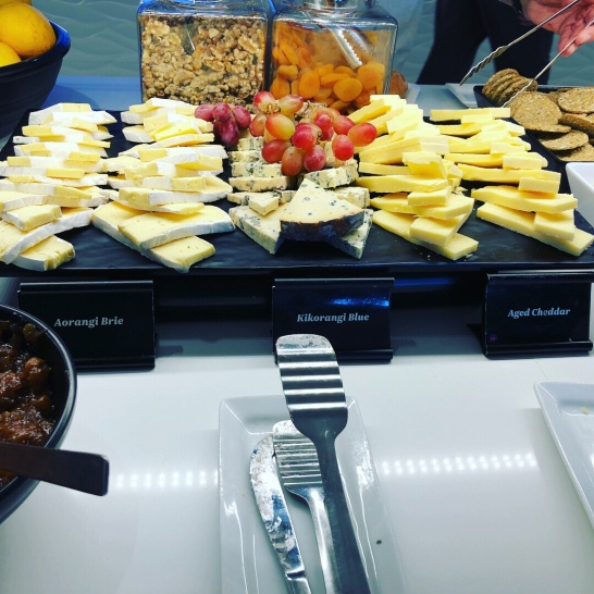 Cheese in the Air NZ lounge!
