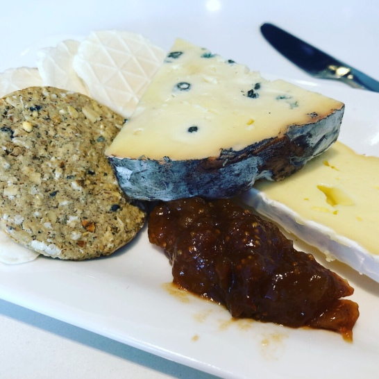 2 cheese knocked off in the Air NZ lounge