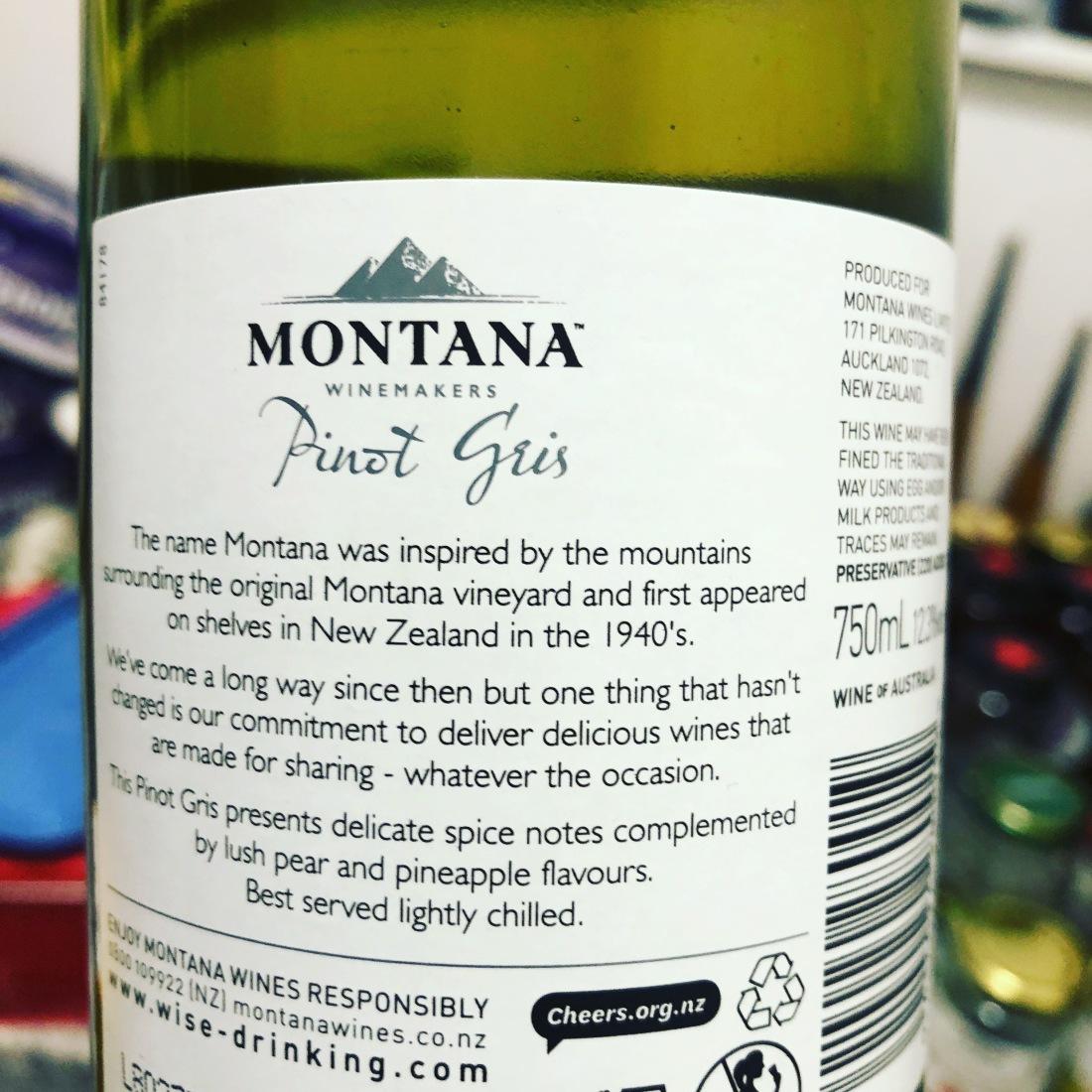 Montana Pinot Gris