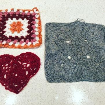 Woollen offerings from Mary