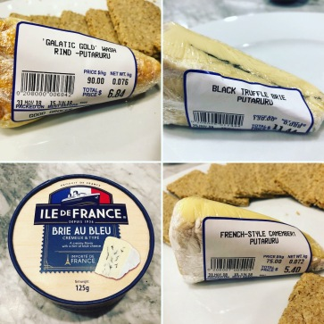 A selection of great cheeses