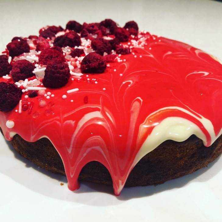 Beetroot and ginger cake from Ottolenghi's book Sweet